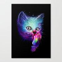 Slurp! Canvas Print