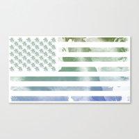 United States of Tropics Canvas Print