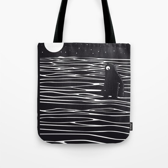 Scary monster! Tote Bag