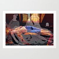Chatterton's Dream Art Print