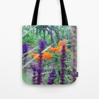 Between The Purples And … Tote Bag