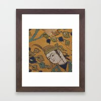 leili and majnoon Framed Art Print