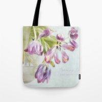 Love Tulips Tote Bag