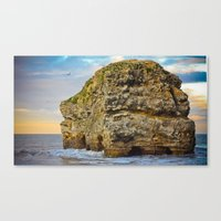 Marsden Rock Canvas Print