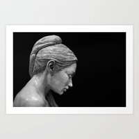 RK Sculpture Art Print
