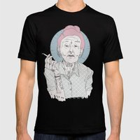 grandmother Mens Fitted Tee Black SMALL
