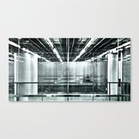 behind the glass Canvas Print