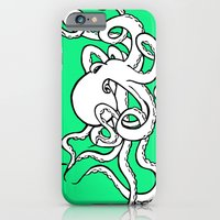 iPhone & iPod Case featuring 8 Arms in Motion by tCAP