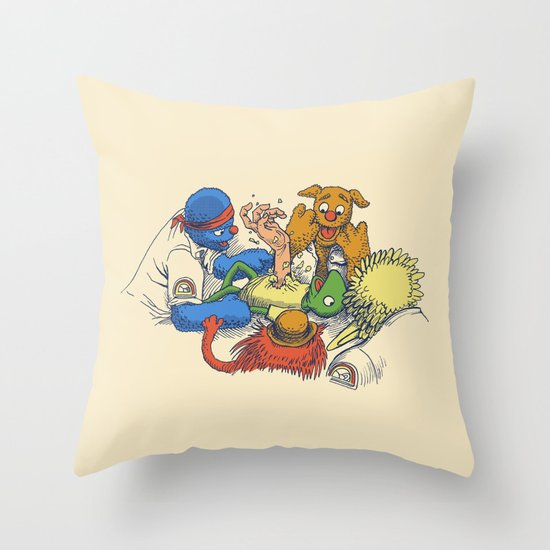 Open Sesame Throw Pillow