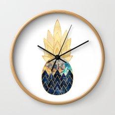 Precious Pineapple 1 Wall Clock