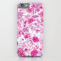 iPhone & iPod Case featuring Floral Fuchsia by Nett Designs