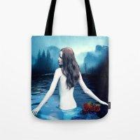 Cold River Tote Bag