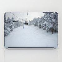 Skiing Vermont iPad Case