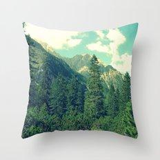 take the long way home Throw Pillow