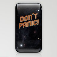 Don't Panic iPhone & iPod Skin