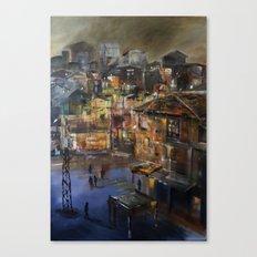 Kentsel Dönüşüm ve Yok oluşum  Canvas Print