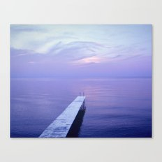 Long Dock Canvas Print