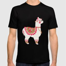 The Alpaca SMALL Mens Fitted Tee Black