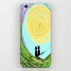 Kitty Cat Love iPhone & iPod Skin