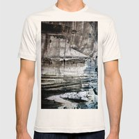 A painterly thing... Mens Fitted Tee Natural SMALL
