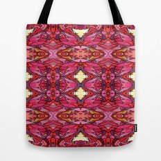 Funky Reds Tote Bag