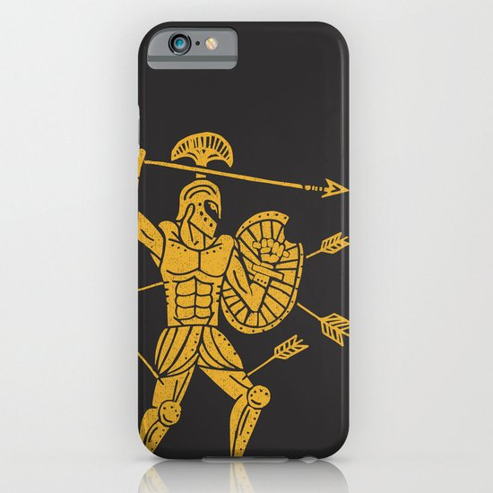 the warrior iPhone & iPod Case