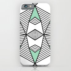 Triangle Tribal Mint iPhone 6s Slim Case
