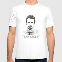 Team Crosby Mens Fitted Tee White SMALL