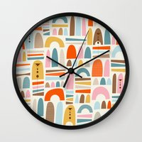 mountainsss Wall Clock