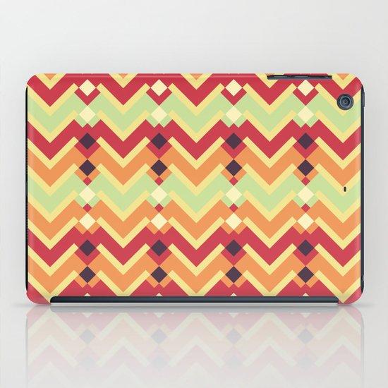 Fractal mountains - salad iPad Case