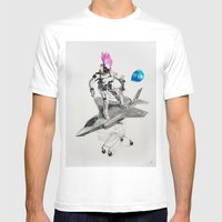 Abjectified: Skunk Works Mens Fitted Tee White SMALL