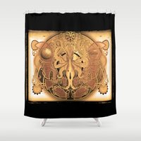 OCTO-CHAO Shower Curtain