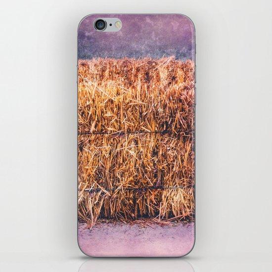 A TWIST ON HAY iPhone & iPod Skin