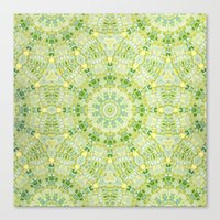Sun Tile Canvas Print
