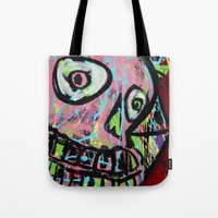 King Skull Tote Bag