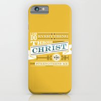 Philippians 4:13 iPhone 6 Slim Case