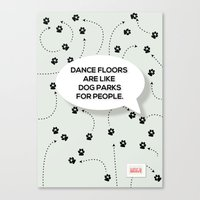 Dance Floors Canvas Print