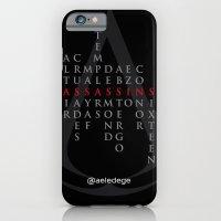 ASSASSINS (Black) iPhone 6 Slim Case