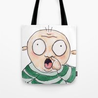 Nose Tote Bag