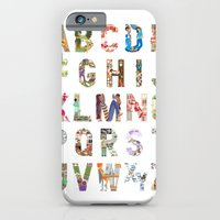 iPhone & iPod Case featuring ABC of professions by Anastassia Elias