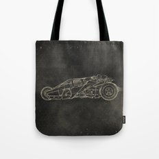 Batmobile: Tumbler Tote Bag
