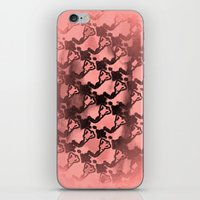 Woman Emerging Pattern D iPhone & iPod Skin