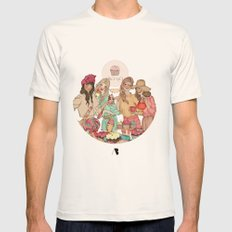 Sweet Temptation Mens Fitted Tee Natural SMALL