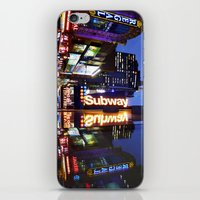 'Times Square NYC ~ BRIG… iPhone & iPod Skin