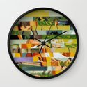 Don't Entirely Trust the Gardener (Provenance Series) Wall Clock
