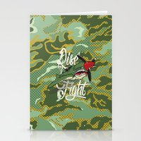 Rise And Fight Stationery Cards