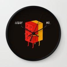 I'll Never Lego Wall Clock