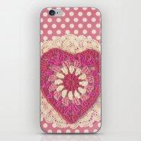Crochet Valentine iPhone & iPod Skin