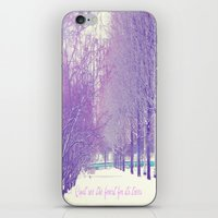 Can't see the forest for its trees iPhone & iPod Skin
