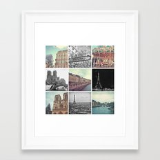 Paris 2012 Framed Art Print